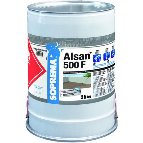 Résine polyuréthane pour finition - ALSAN® 500 F - RAL7032 - Seau de 25 kg