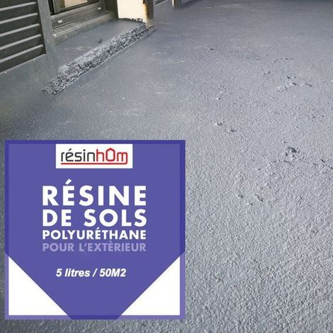 """main image of """"Résine polyuréthane sol extérieur 5Litres pour +/-50M2"""""""