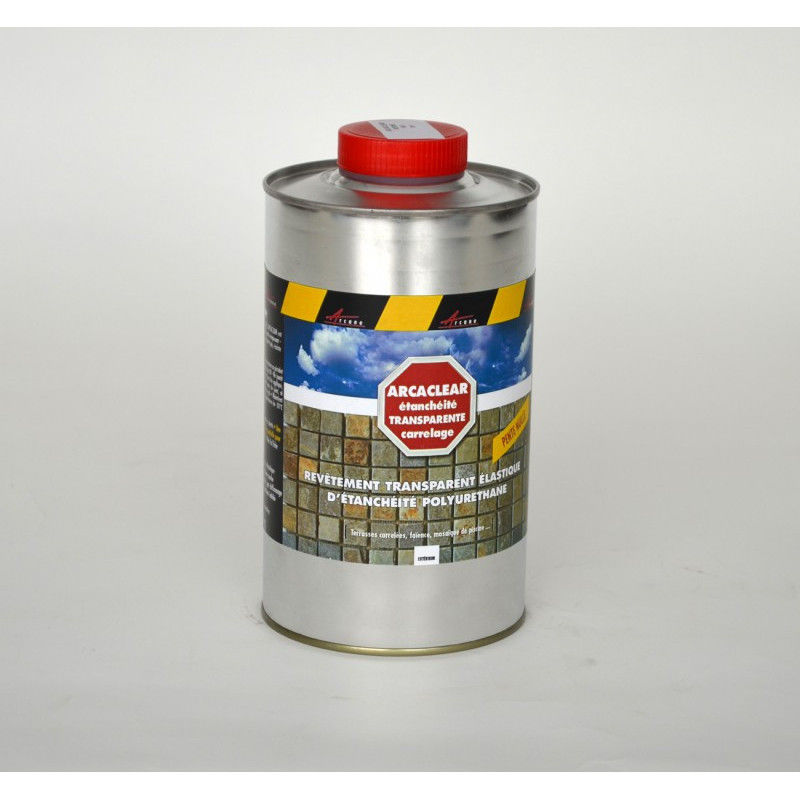 Resine Transparente Pour L Etancheite De Carrelage Terrasse Balcon Arcaclear Arcane Industries Transparent 1 Kg 1 M 146 23398