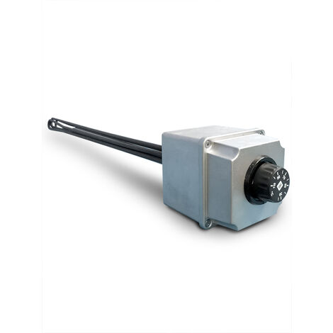 Résistance électrique triphasée blindée avec thermostat jusqu'à 110 ° C