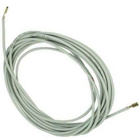 Resistencia Silicona 2Mts 3mm Flexible 30W 220V