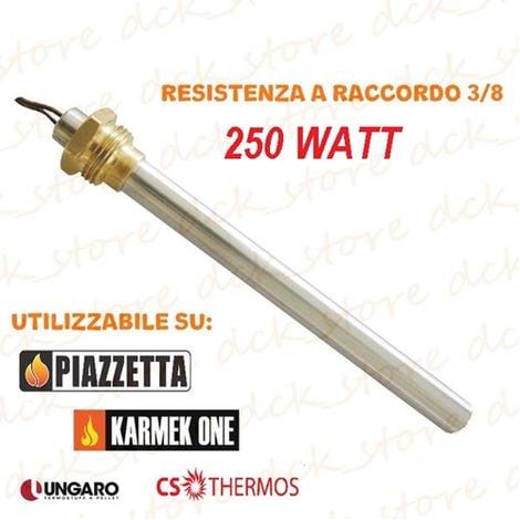 Resistenza Candeletta Stufa pellet 3//8 280W 160 150 UNGARO VIBROK LINCAR KARMEK