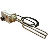 Resistenza elettrica a tappo monofase con termostato 320 mm