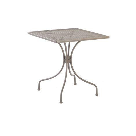 resol mesa de jardín exterior cuadrada Egeo 70x70 - color arena