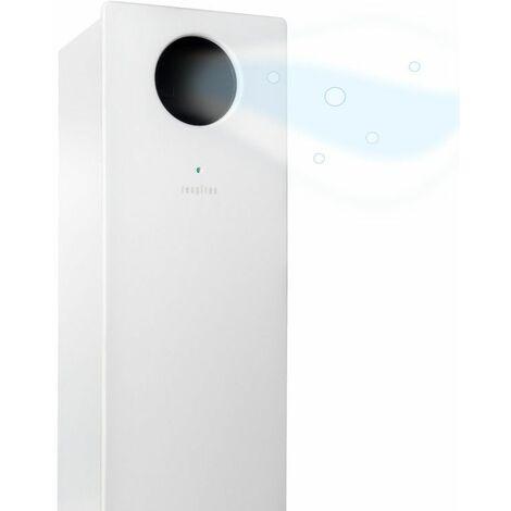 Respirae Purificador de aire con luz ultravioleta UV-C, aire libre de virus y bacterias, efectividad del 99,9%, certificado por la Universidad del Pais Vasco, sin filtros ni ozono, blanco - blanco