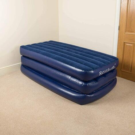 Rest Form Single High Rise Air Bed 3�Ply Air Mattress
