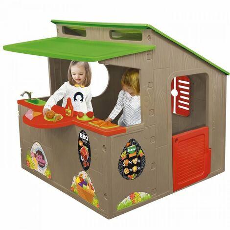 Restaurant paillote - Avec accessoires - Maison pour enfant