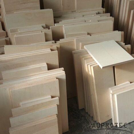 8-10kg Reste Quadrat Multiplexplatte 18mm-30mm Sperrholz Platten Zuschnitt Multiplex Holz Bastler