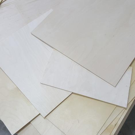 4-5kg Reste Quadrat Multiplexplatte 18mm-30mm Sperrholz Platten Zuschnitt Multiplex Holz Bastler
