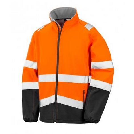 Result Adults Safe-Guard Printable Safety Soft Shell Jacket