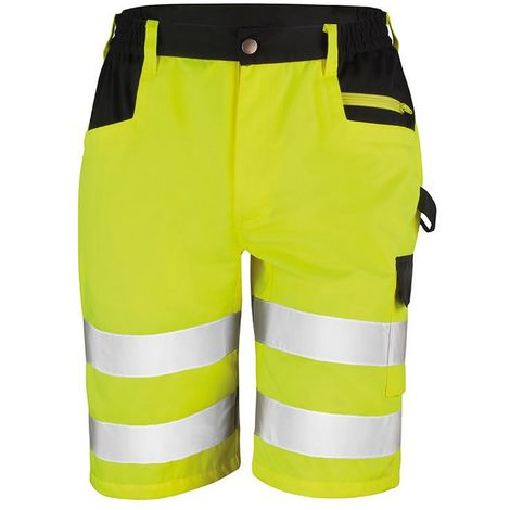 Result Core Mens Reflective Safety Cargo Shorts