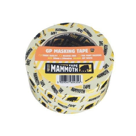 Retail/Labelled Masking Tape