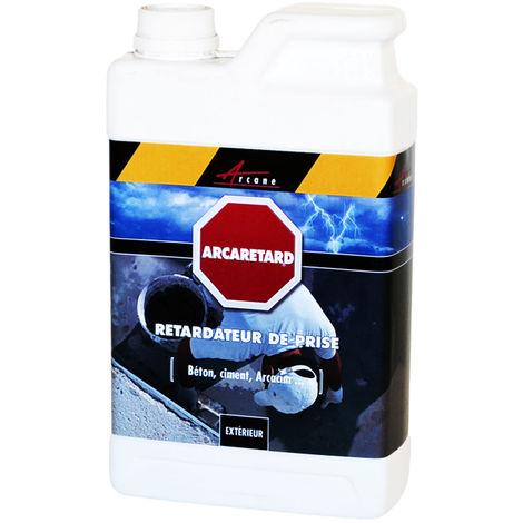 Retardateur prise ciment béton - ARCARETARD