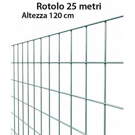 RETE ELETTROSALDATA ZINCATA CM 200 x 100 MASSETTO PAVIMENTI MURATURA ARMATURA