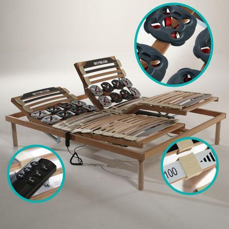 Rete elettrica letto a doghe in legno ortopedica motorizzata - Rete Superior