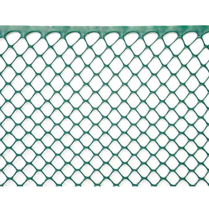 Rete Plastica Per Giardino.Rete Esagonale Da Giardino 15mm In Plastica 0 5x30m Rama Mirror