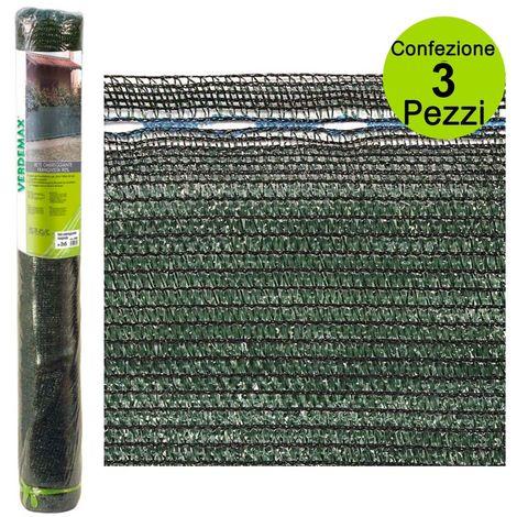 per recinzioni e coperture 3x4 m VERDELOOK Tessuto Ombra in Mini Rotoli Oscurante al 70/%