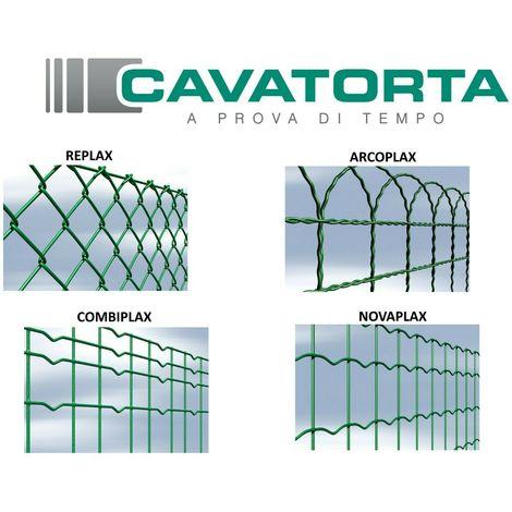 Rete metallica plastificata per recinzione cavatorta made for Altezza recinzione per cani