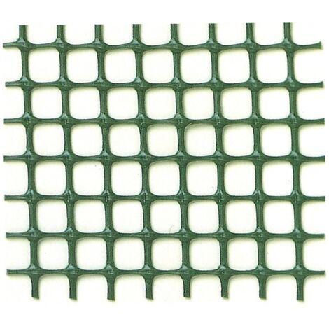 con 12 pali in fibra di vetro Rete perimetrale universale altezza 80 cm e lunghezza 20 m colore verde