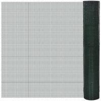 Rete per recinzione in acciaio galvanizzato maglia quadrata 19 x 19mm