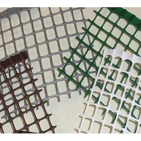 Rete Plastica Per Recinzioni Prezzi.Rete Plastica H Cm 100 Maglia Quadra Cm 1x1 Recinzione Ringhiera