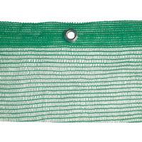 Rete ponteggi ponteggio verde 18x10 mt con occhielli peso 50 gr mq