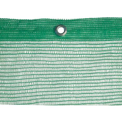 """main image of """"Rete ponteggi ponteggio verde 1,8x25 mt con occhielli peso 50 gr mq"""""""
