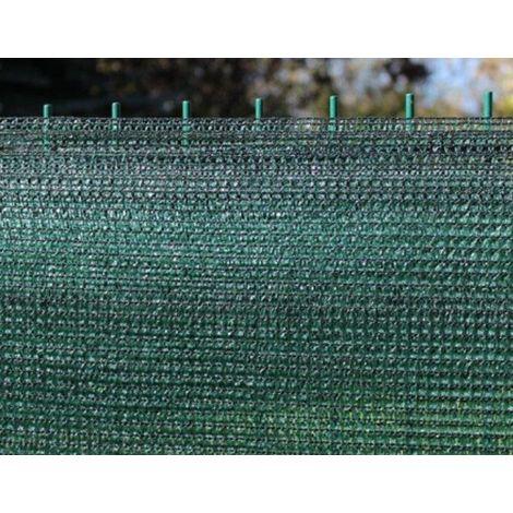 Lunghezza 100 MT Rete ombreggiante Bianca Rotolo H200cm