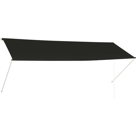 Retractable Awning 350x150 cm Anthracite