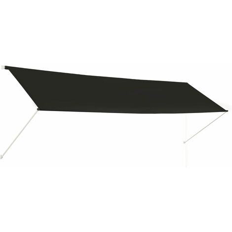 Retractable Awning 400x150 cm Anthracite