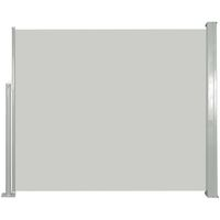 Retractable Side Awning 120 x 300 cm Cream