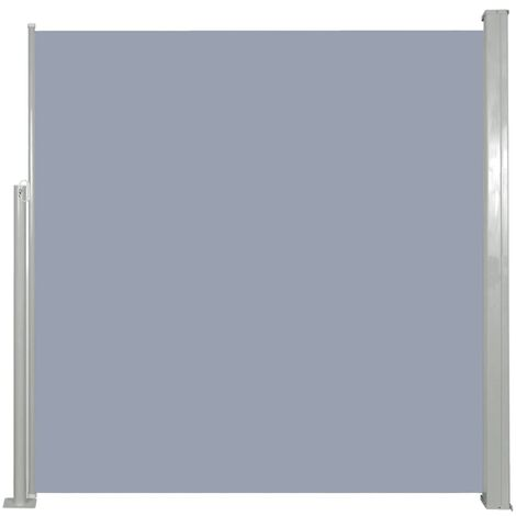 Retractable Side Awning 140 x 300 cm Grey