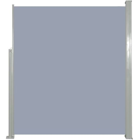Retractable Side Awning 160 x 500 cm Grey