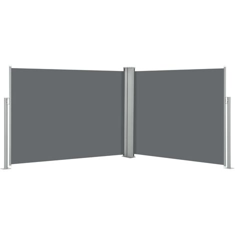 Retractable Side Awning Anthracite 170x1000 cm