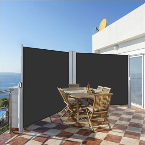 """main image of """"Retractable Side Awning Patio Privacy Screen Canopy Shade Garden Sun Blind"""""""