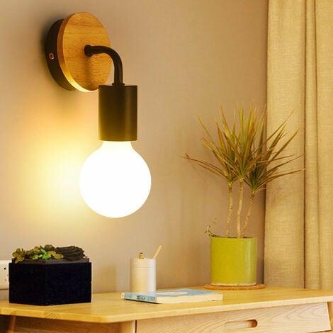 Retro Applique Murale 2PCS E27 Lampe Eclairage Decor pour Salon Couloir