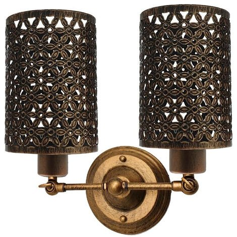 Retro Brushed Copper Vintage Industrial Wall Mounted Lights