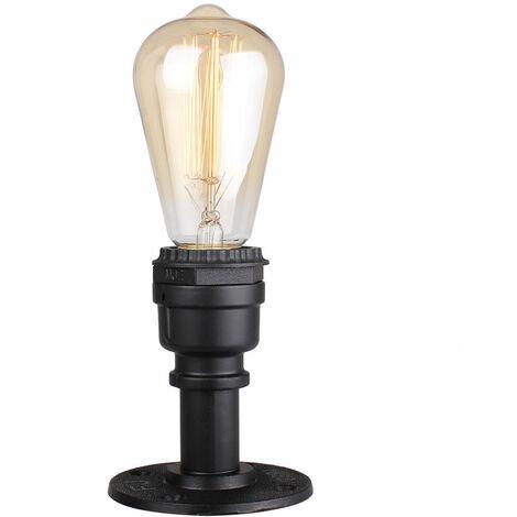 Retro Industrial Ceiling Light Metal Iron Chandelier Creative Antique Pendant Light for Loft Bar Cafe Black