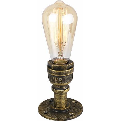 Retro Industrial Ceiling Light Metal Iron Chandelier Creative Antique Pendant Light for Loft Bar Cafe Bronze