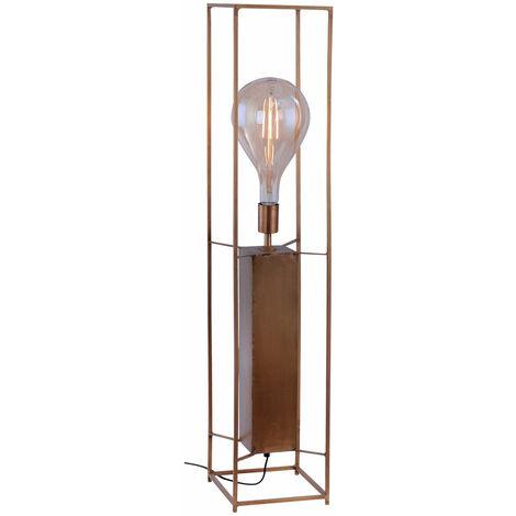 RETRO lampadaire salon plafond projecteur lampe cage latérale laiton