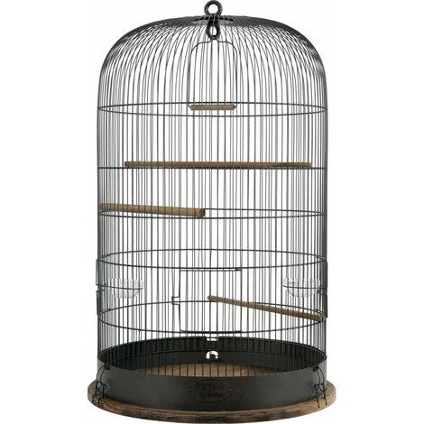 RETRO MARTHE CAGE. ø 48 cm x altura 74 cm. para las aves.