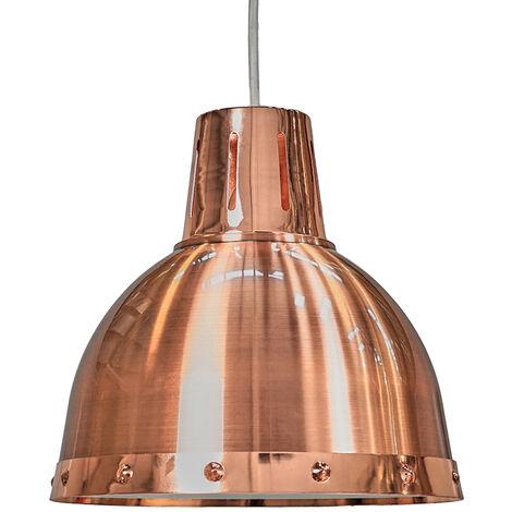 Retro Metal Domed Ceiling Pendant Light Shade