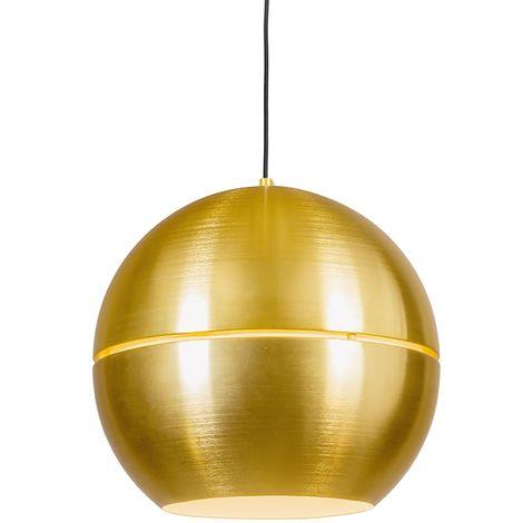 Retro Pendant Lamp 40cm Gold - Slice
