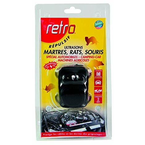Retro REPULSIF ULTRASONS Rats, Souris, MARTRES SPÉCIAL Automobiles, Camping Car, Machines AGRICOLES