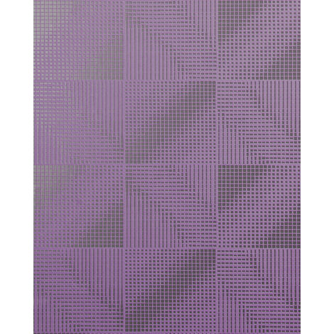 Retro wallpaper wall EDEM 85071BR34 wallpaper slightly textured with abstract pattern and metallic highlights lilac pearl violet silver 5.33 m2 (57 ft2)