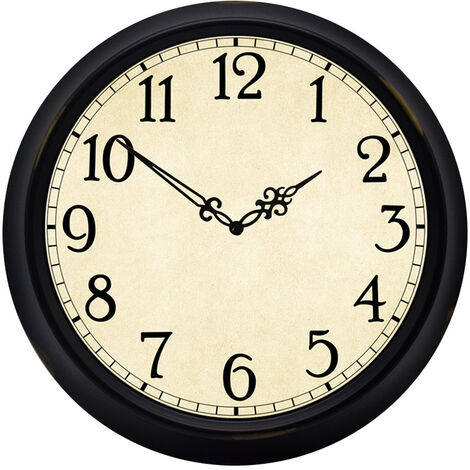 Retro wrought iron big wall clock living room creative European-style wall clock simple wholesale hot sale explosion products