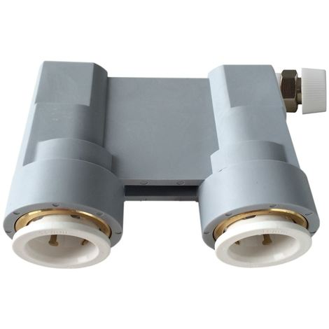 Reusable Central Heating Water System Quick Test Pressure Check Connector 16mm