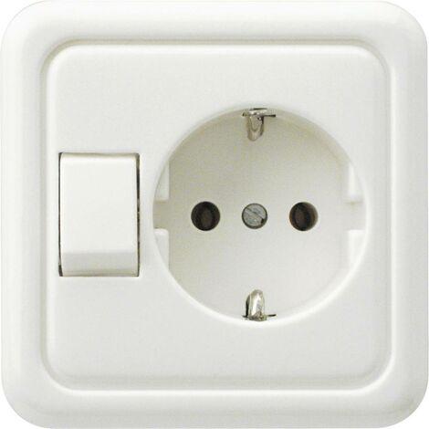 REV Interrupteur va-et-vient blanc 0500110551