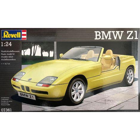 Revell Modellbausatz BMW Z1, Maßstab 1:24, Level 4, Nr.: 07361