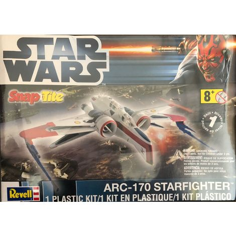 Revell Modellbausatz Star Wars ARC170 Starfighter Model Kit Nr.: 85-1855